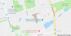 Mapa: Księży Młyn, Łódź