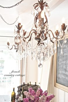 FRENCH COUNTRY COTTAGE: A Little Bit of Bling