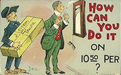 Dwiggins, Clare Victor (1873 - 1958) Dwiggins postcard