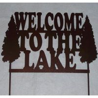 Welcome Signs and lots of other metal craft - Made in MICHIGAN