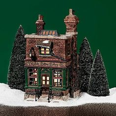 Dept 56 Dickens Village Norfolk Biffins Bakery A Christmas Carol 3D #58491 (679)