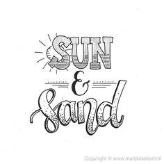 Dag 7 van de #dutchlettering challenge van juli 2017. . . . . . . . #typography #calligraphy #brushcalligraphy #brushlettering #quote #lettering #letterart #handdrawn #handwritten #handmadefont #handletteren #handlettering #dutchletteringchallenge #draw #drawing #tekenen #tekening #sketch #doodle #typspire #typedaily