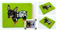 Custom Dog Portrait / Custom Pet Portrait  1 by TheStardustStudio, $42.95
