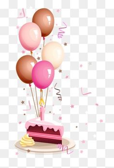 Happy Birthday Text, Birthday Greetings, Birthday Wishes, Pink Birthday Cakes, Birthday Balloons, Birthday Background, Christmas Background, Free Birthday Clipart, Cake Drawing