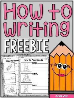 """Free - How to Story Starters FREEBIE Guided """"how to"""" writing story starters!  These are great for whole-group writing lessons or for independent work on writing folders!  Visit my blog  Little Minds at Work  Follow me on Facebook"""