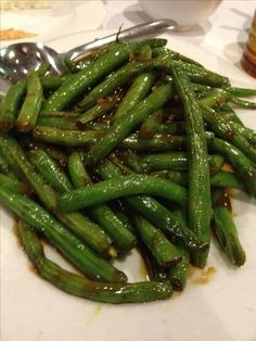 String Beans in Garlic Sauce | Grade: A Review:  Best green beans ever.   We've made it multiple times, the flavor is full, nuanced and round --and surprisingly versatile-- make enough for leftovers!  A new staple.