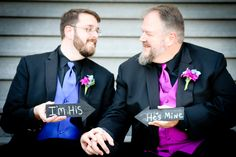 "Gay Wedding - ""I'm His.... He's Mine"" by Crystal Image Photography"