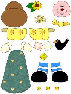 Raquel Rodrigues Artesanatos : 300 moldes de EVA para Imprimir Scarecrow Crafts, Paper Factory, Cool Kids, Crafts For Kids, Kids Rugs, Printables, Templates, Foot Prints, Spanish Class