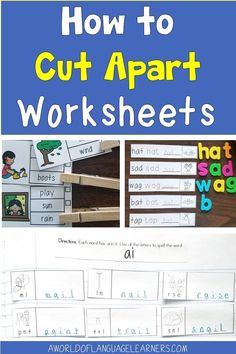 Learn tips about cutting apart worksheets to help students stay engaged in a new way. This is an easy way to provide differentiation, use interactive notebooks, and provide repeated practice. Teaching Resources, Teaching Ideas, Magnetic Letters, Student Engagement, New Teachers, Differentiation, Interactive Notebooks, Student Learning, Task Cards