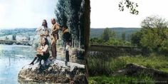 the places of filming Winnetou