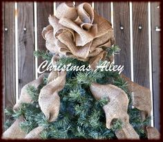 Decorating How To Decorate An Artificial Christmas Tree Christmas Bows For Tree Topper Japanese Christmas Decorations Christmas Tree Angel Toppers Christmas Trees Decorations Burlap Christmas Tree, Christmas Bows, Christmas Tree Toppers, Rustic Christmas, Christmas Projects, Christmas Tree Decorations, Christmas Tree Ornaments, Holiday Crafts, Christmas Holidays