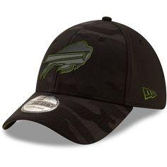 5cba8b2f9 Buffalo Bills New Era Camo Royale 39THIRTY Flex Hat - Black