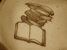 book tattoos <3  #tattoos