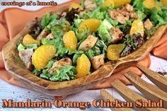 Mandarin Orange Chicken Salad for #SundaySupper | Cravings of a Lunatic