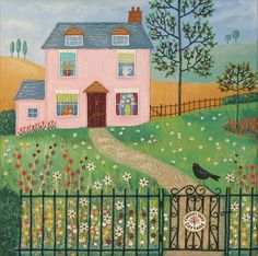 Cherry Tree Cottage - Wouldn't mind living here either! - By Josephine Grundy