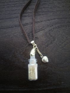 Rumplestiltskin Once Upon a Time Fairy Dust Necklace for Kylie