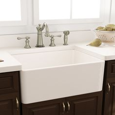 """Nantucket Sinks Cape 30.25"""" x 18"""" Kitchen Sink with Grid and Drain"""