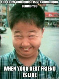 Lol ik this probly shldnt be funny but I can help how goofy tht face look xb :)