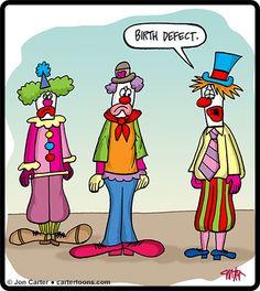 Clown birth defects