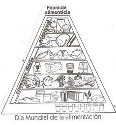 Piramide alimenticia nutrici n pinterest - Piramide alimentaria para ninos ...