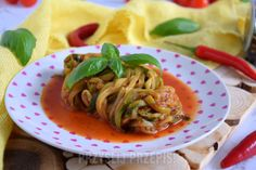 Spaghetti z cukinii (post dr Dąbrowskiej) Spaghetti, Ethnic Recipes, Food, Diet, Essen, Meals, Yemek, Noodle, Eten