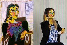 """"""" Non sono stata l'amante di Picasso. è stato il mio unico amore""""  - Ritratto di Dora Maar, Picasso- #weRart https://www.instagram.com/werart_project/"""
