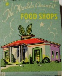 Vintage matchbook: Corn Dog Shops, 3311 Oak Lawn (between Hall and Rawlins), Dallas, Texas by coltera, via Flickr