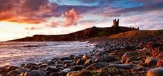 Dunstanburgh Castle, Northumberland, UK - Keith Truman  - Canvas
