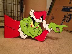grinch tree peeker Every piece is drawn,cut,sanded and painted by myself to insu. - grinch tree peeker Every piece is drawn,cut,sanded and painted by myself to insure that your item w - Grinch Trees, Grinch Christmas Party, Grinch Party, Christmas Yard Art, Office Christmas, Christmas Wood, Outdoor Christmas, Christmas Projects, Christmas Holidays