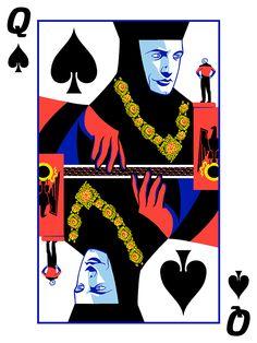 "Queen of Spades: ""Q of Spades"" by Mark Englert"