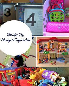 Ideas for Toy Storage & Organization #sponsored