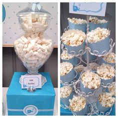 Treats at an Elephant baptism!  See more party ideas at CatchMyParty.com!