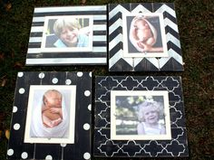 Distressed Picture Frames Unique Christmas by WestAshleyWallArt, $184.00