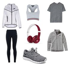 Sans titre #8 by paolacarreau on Polyvore featuring polyvore, fashion, style, Patagonia, T By Alexander Wang, Topshop, NIKE and Beats by Dr. Dre