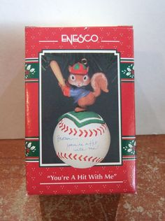 Enesco Ornament You're a Hit with Me NIB (H17)