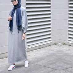 Hijab and outfits. Muslim Fashion, Modest Fashion, Hijab Fashion, Fashion Outfits, Fall Fashion, Casual Hijab Outfit, Hijab Dress, Modest Dresses, Modest Outfits