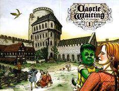 . Fantasy Comics, Castle, Castles