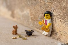 [Real World] Street Talent Lego Disney Princess, Lego Display, Miniature Photography, Lego Photography, Lego Spiderman, Lego Marvel, Lego Design, Lego Minifigs, Lego Technic