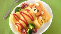 Create Eat Happy :): Rilakkuma Omurice - Video Recipe... ive actually made this and it is DELICIOUS!!!