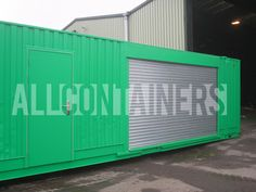 Roller Shutter Shipping Container