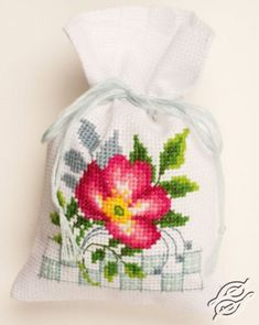 Vervaco Echinacea /& Butterfly Cross Stitch Kit PN-0150042 Potpourri Bags