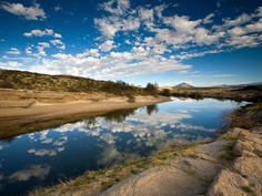 Rio Grande River - Photograph by Ian Shive, Aurora Photos/Alamy. One of the largest rivers in North America, the 1,885-mile (3,033-kilometer) Rio Grande runs from southwestern Colorado to the Gulf of Mexico. It defines much of the border between Texas and Mexico. But the once grande river is looking more poco these days, thanks to heavy use on both sides of the border.