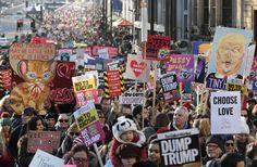 The Most Powerful Photos From the Women's March 2017 | Allure