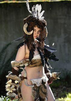 Forsworn Bandit - Skyrim Cosplay - BangBangNeko
