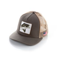 Line Cutterz releases their new Pro Fish Gear line of hats. Largemouth bass  and specked 1a354e00ca04