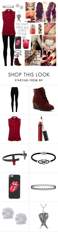 """""""You don't know how lovely you are"""" by emmcg915 ❤ liked on Polyvore featuring Wolford, Timberland, Cameo Rose, Laura Geller, Jewel Exclusive, Topshop, Effy Jewelry, Journee Collection and Edition"""