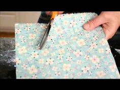 Brighten up any party with a cute pennant banner! Watch this How To from Plaid TV
