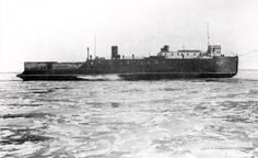 Ann Arbor Train Ferry No.1-Great Lakes Ship, Registry No. US. 106974, Built 1892, Burned, Manitowoc, March 7-8, 1910. Hull sold to Love Construction Co., Muskegon, not documented.Equipped with twin engines and bow engine to break ice. Bow engine removed, 1893 - put in Ann Arbor No. 3, 1898.