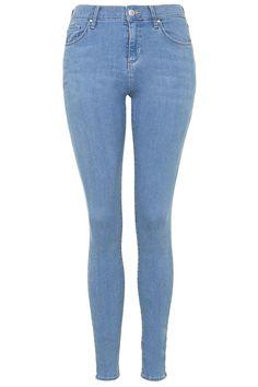 MOTO Azure Blue Leigh Jeans - Topshop
