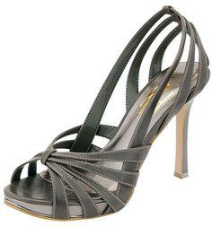 City-02 Grey Women Dress High Heel Pump Shoes $19.00 Clubbing Wedding